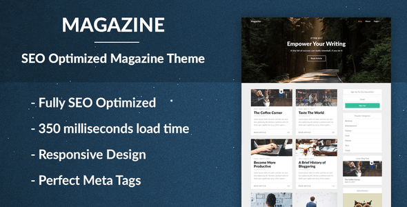 Magazine - SEO Optimized News and Newspaper Theme
