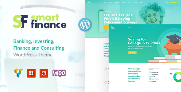 Smart Finance | Accounting & Tax Help WP Theme