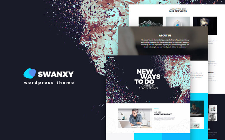Swanxy WordPress Theme