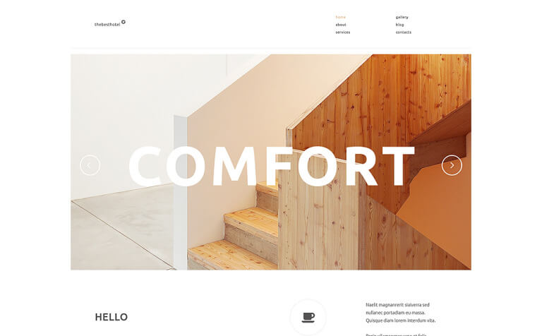 Travelers Accommodation WordPress Theme