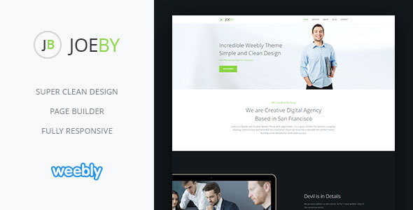 Joeby | Responsive Multipurpose Weebly CMS Theme