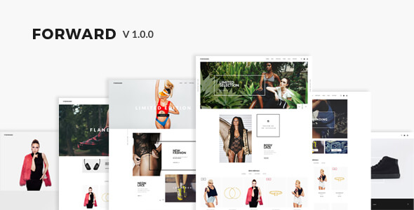 Forward - Fashion Responsive Magento Theme