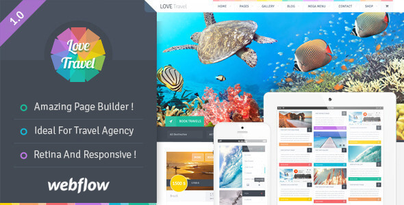 Love Travel - Travel Agency For Travel And Tour Webflow