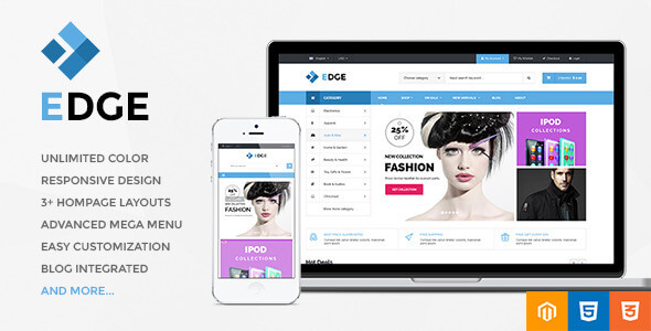 Edge - Responsive Multipurpose Magento Theme