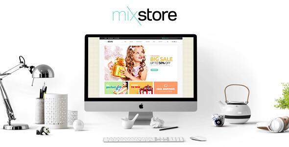 Leo Mix Store Responsive 3dcart Theme