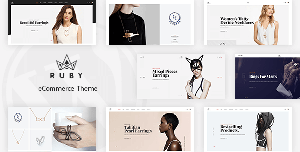 Ruby - Jewelry Store Responsive Magento Theme
