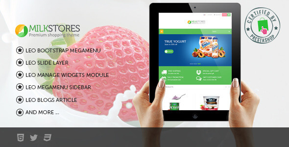 Leo Milk Prestashop Theme