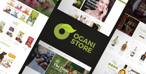 Ogani - Organic, Food, Pet, Alcohol, Cosmetics Responsive Magento Theme