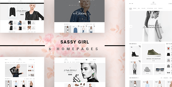 Sassy Girl - Women Online Shop Theme for Magento 2