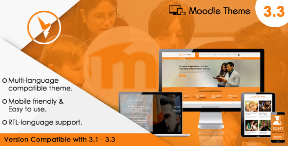 LearningZone - Responsive Moodle Theme