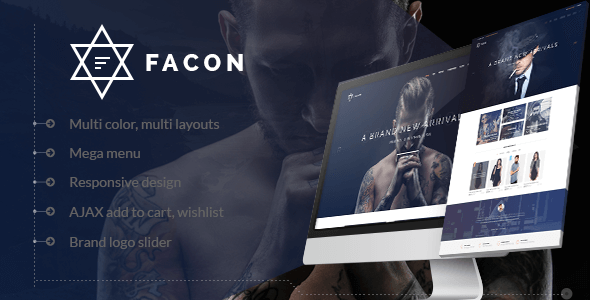 Facon - Fashion Responsive Magento 2 Theme