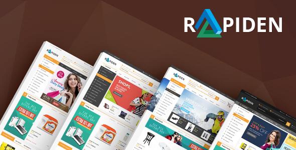 Rapiden - Mega Shop Responsive Magento Theme