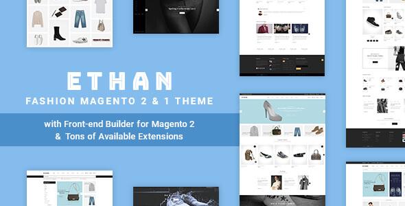 ETHAN - Luxury Fashion Magento 2 and 1 Theme