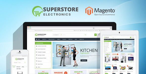 Ves Super Store Responsive Magento 2 & 1 Theme