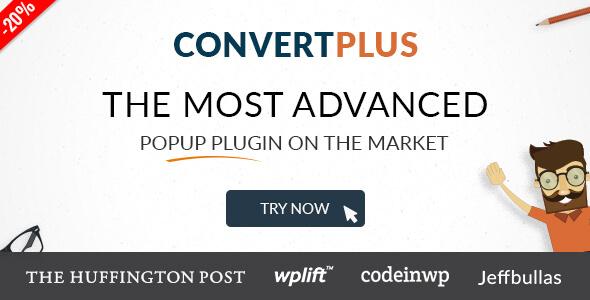 Popup Plugin For WordPress - ConvertPlus