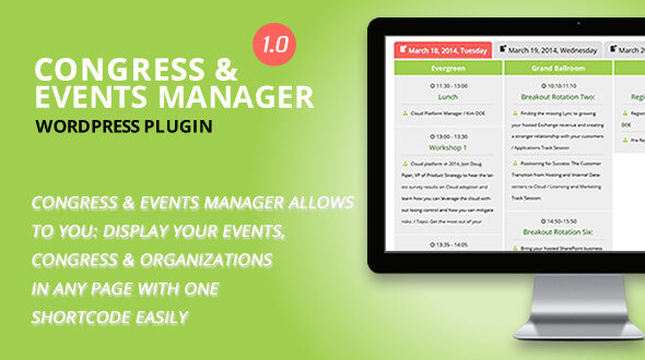 WordPress Event Manager Plugins