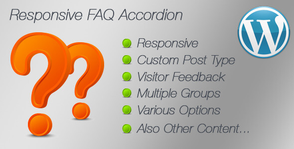 Responsive FAQ Accordion