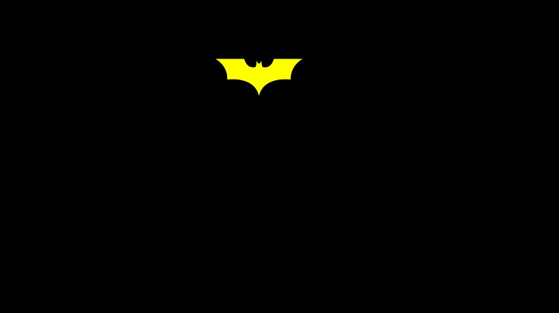 Batman SVG 3D flip card