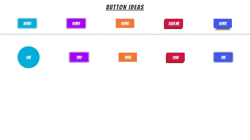 CSS Button & Toggle Ideas