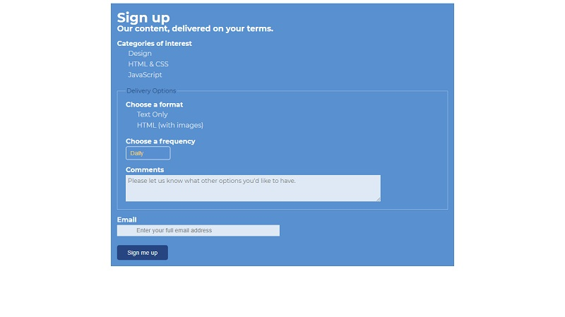 CSS Form Styling (IE9+)