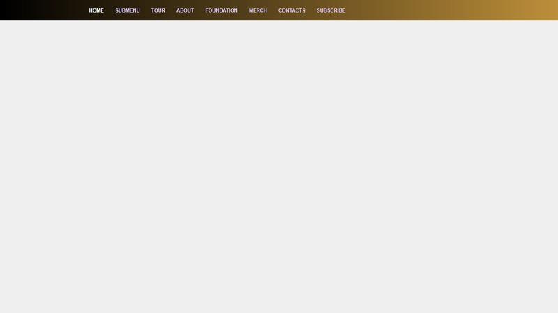 CSS Menu Gradient