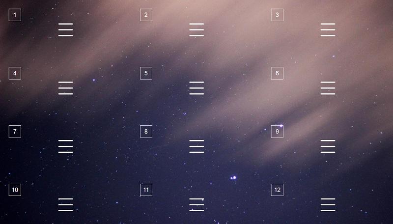 CSS Menu Icons