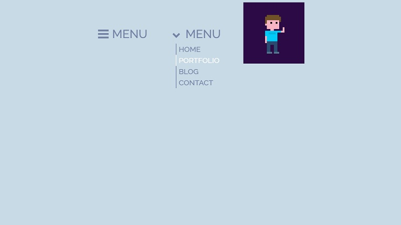 CSS Side Navigation & Hamburger Menu