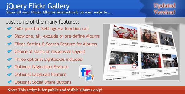 jQuery Flickr Gallery