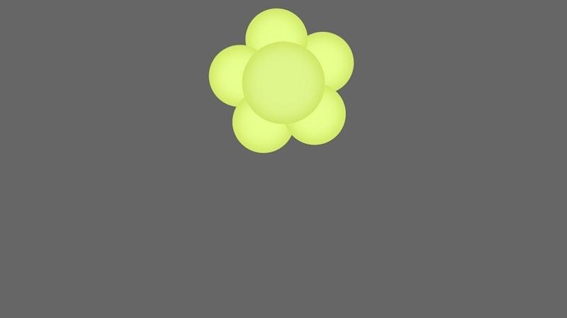 Flower CSS Menu