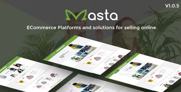 Masta - Clean, Responsive Baby Shop Prestashop 1.7 Theme