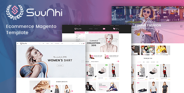 TV Suunhi - Responsive Magento 2 Fashion Theme