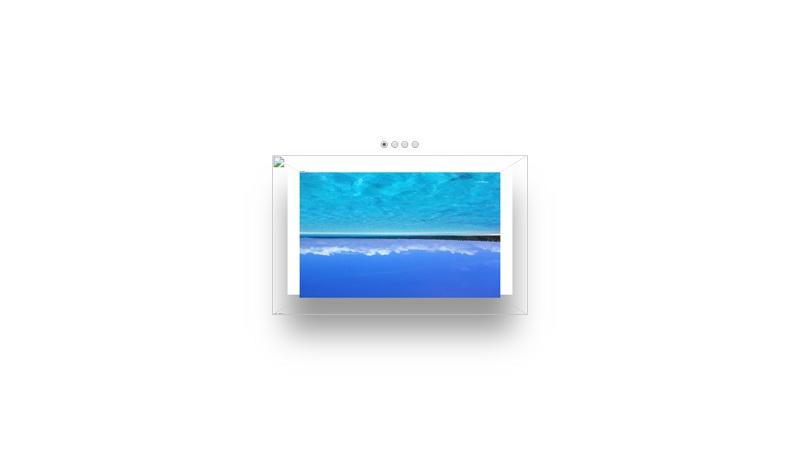 Pure CSS 3D Image Slider