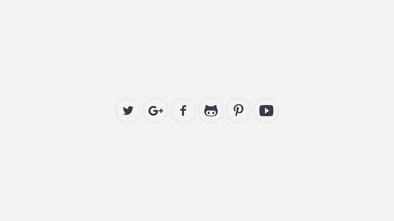 SVG Social Icons