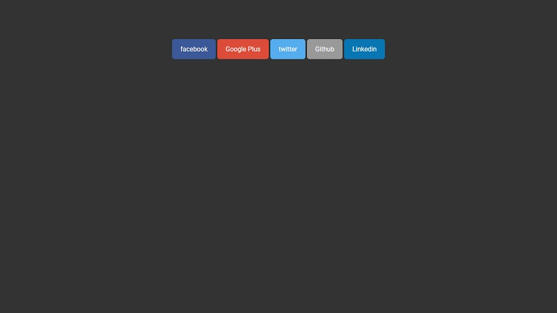 Social Icons On Hover