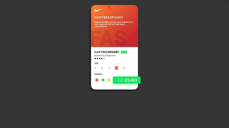 UI Design - Product Card