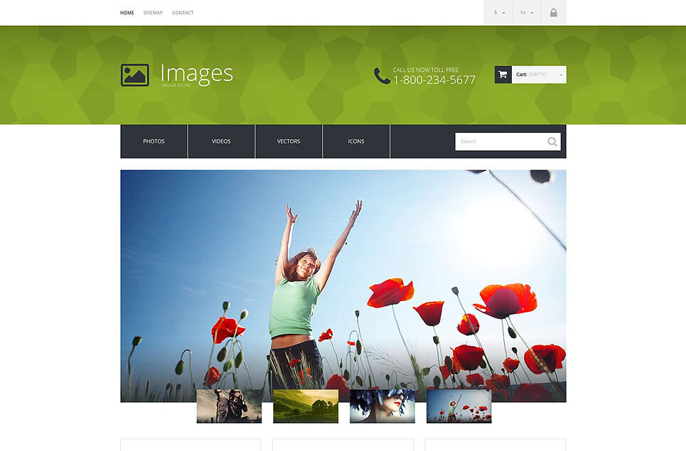 Art Photography PrestaShop Theme