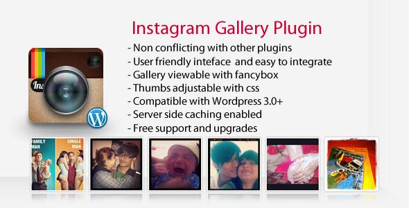 Instagram Gallery - WordPress Plugin