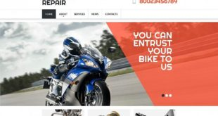 Vehicles Moto CMS 3 Templates