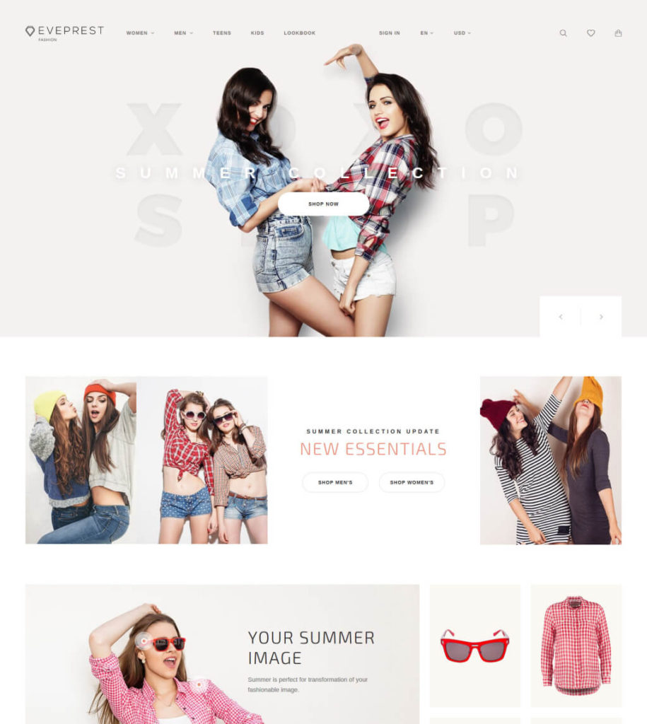Eveprest - Fashion Boutique PrestaShop Theme
