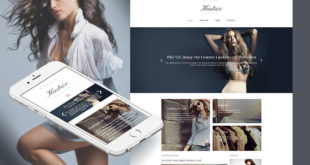 Fashion Moto CMS Templates
