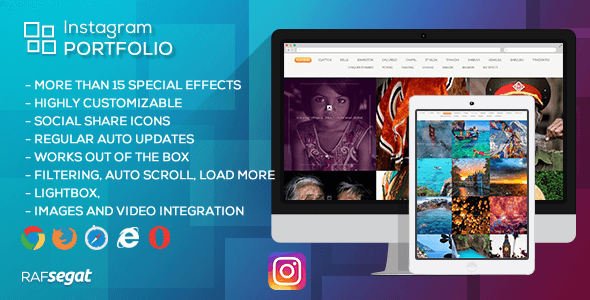 Instagram Portfolio - WordPress Plugin