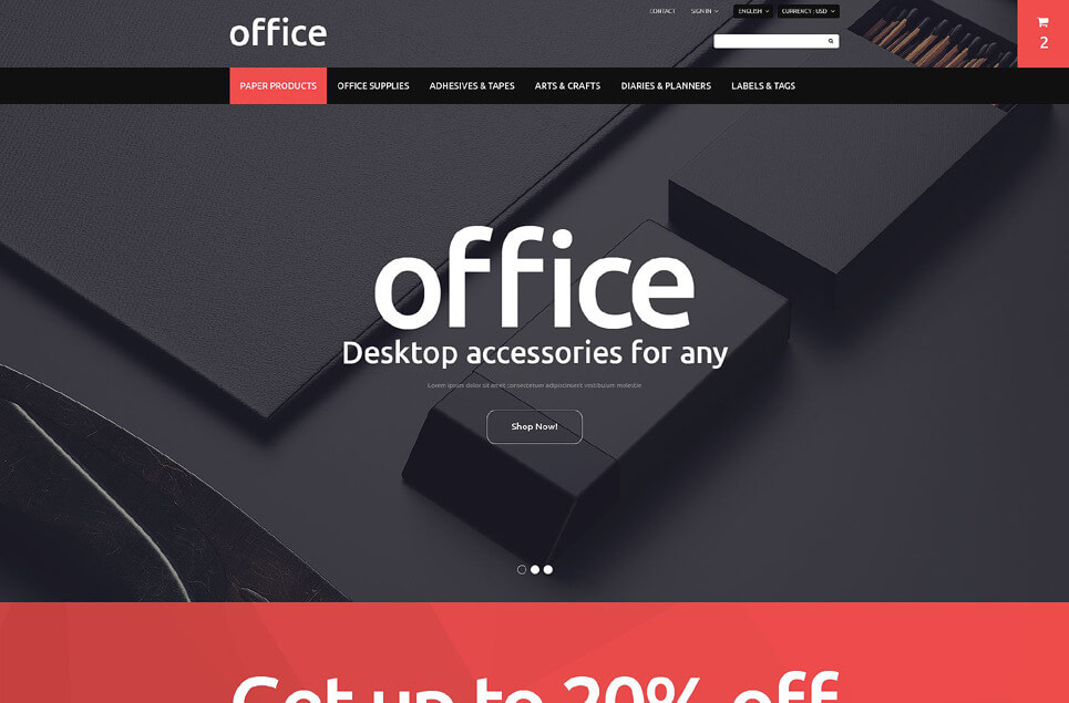 Office PrestaShop Theme