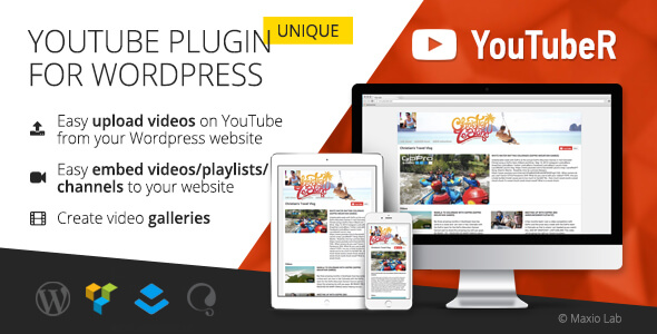 YouTubeR - unique YouTube video gallery plugin