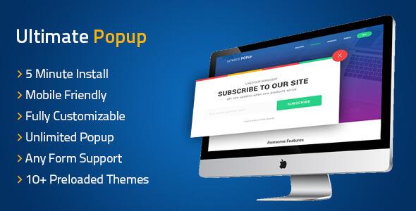 Ultimate PopUp WordPress