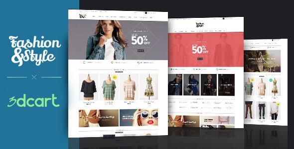 Ap Fashion 3dcart Theme