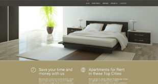 Real Estate Moto CMS 3 Templates