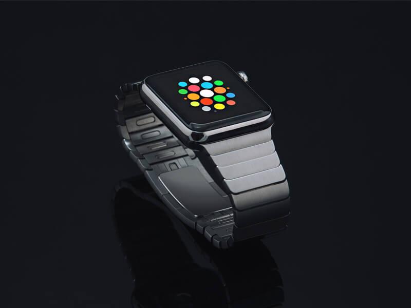 Dark Apple Watch Mockup