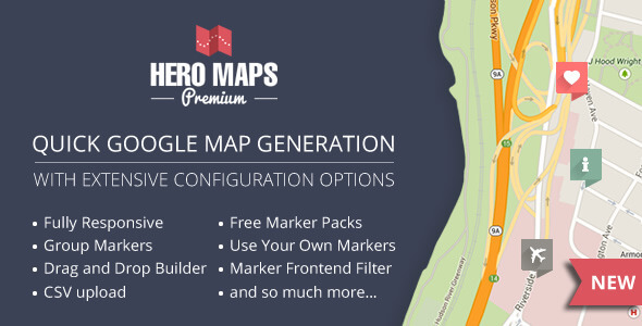 15+ Best Google Map WordPress Plugins 2018