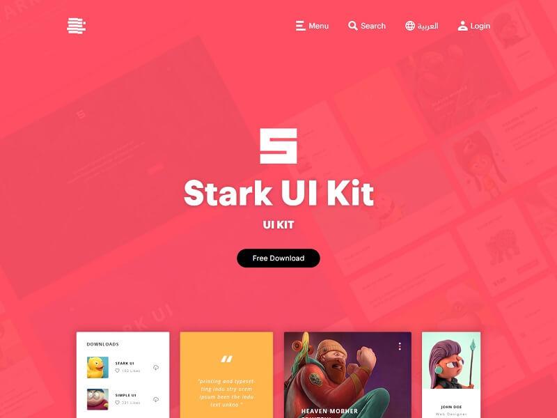 Stark UI Kit