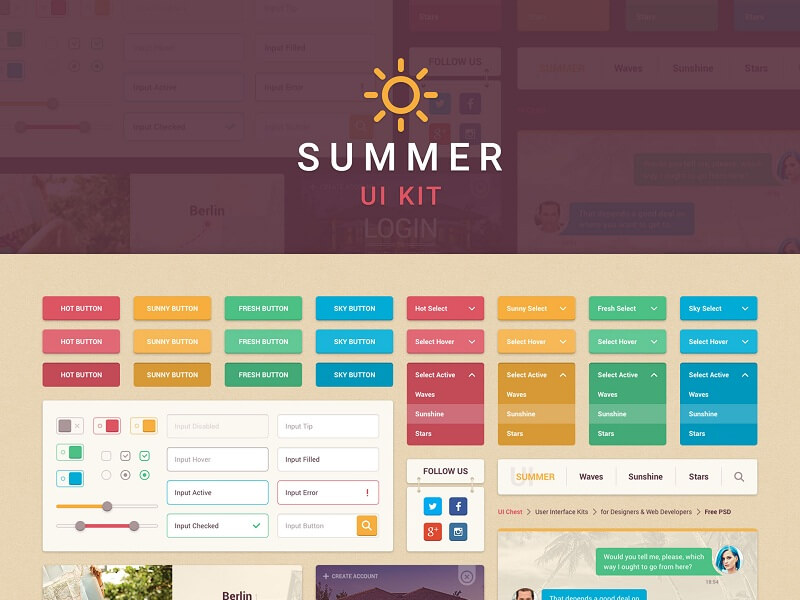 Summer UI Kit